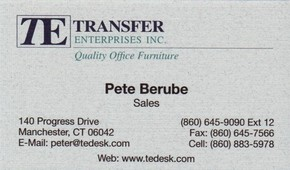 Click to see Transfer Enterprises Inc Details