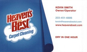Click to see Heaven's Best Carpet Cleaning Details